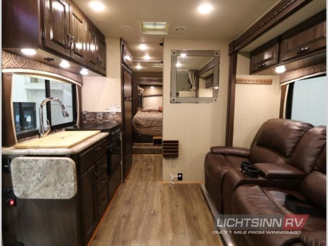 2018 Thor Motor Coach Chateau Sprinter 24HL - Used Class C For Sale by Lichtsinn RV in Forest City, Iowa features Slideout
