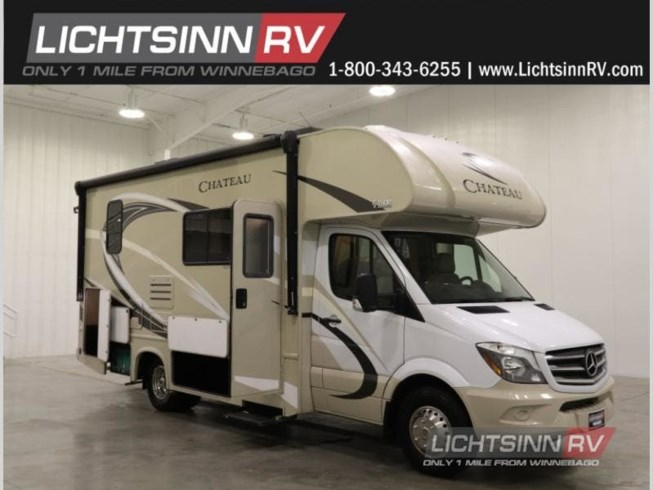 Used 2018 Thor Motor Coach Chateau Sprinter 24HL available in Forest City, Iowa