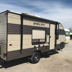 Used 2017 Forest River Wolf Pup 16FQ For Sale by Louisville RV Center available in Louisville, Kentucky