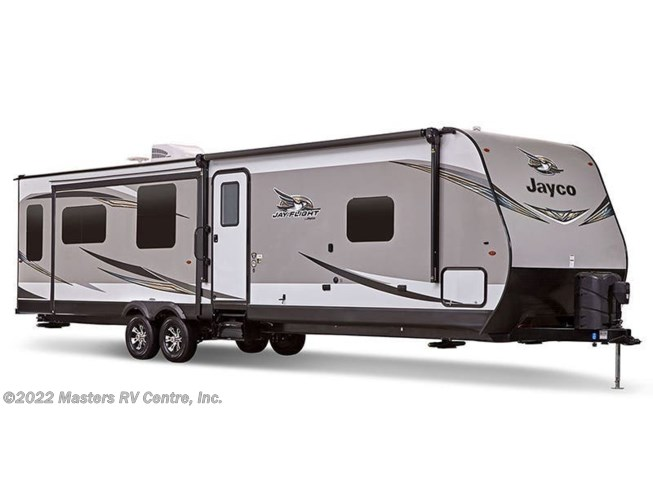 Stock Image for 2019 Jayco Jay Flight 29BHDB (options and colors may vary)