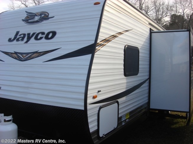2019 Jayco Jay Flight SLX 287BHS - New Travel Trailer For Sale by Masters RV Centre, Inc. in Greenwood, South Carolina features CO Detector, Power Awning, TV Antenna, TV, Exterior Speakers