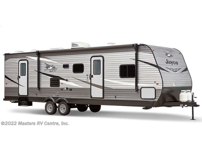Stock Image for 2020 Jayco Jay Flight SLX 235RKSW (options and colors may vary)