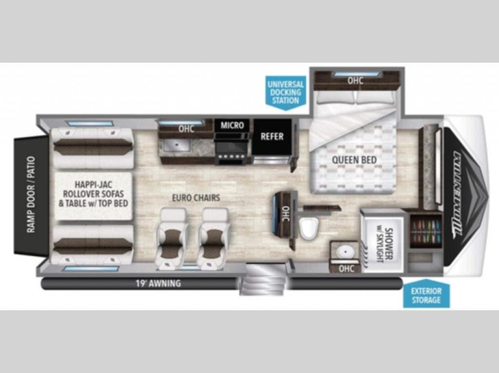 Surprising 2019 Grand Design Rv Momentum 21G For Sale In Fort Worth Tx 76140 89602 Creativecarmelina Interior Chair Design Creativecarmelinacom