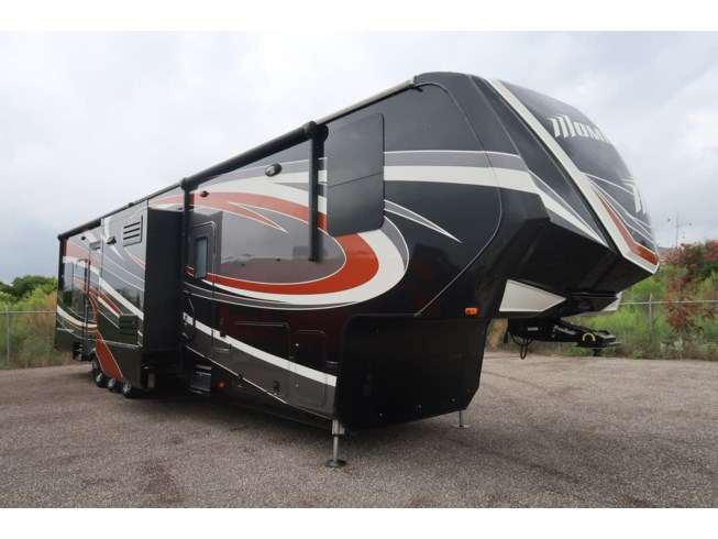 2017 Grand Design Momentum 399TH - Used Toy Hauler For Sale by McClain's RV Fort Worth in Fort Worth, Texas features Full Body Paint