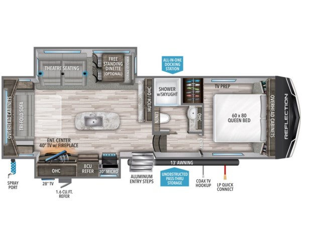 2021 Grand Design Reflection 150 280RS - New Fifth Wheel For Sale by McClain's RV Oklahoma City in Oklahoma City, Oklahoma