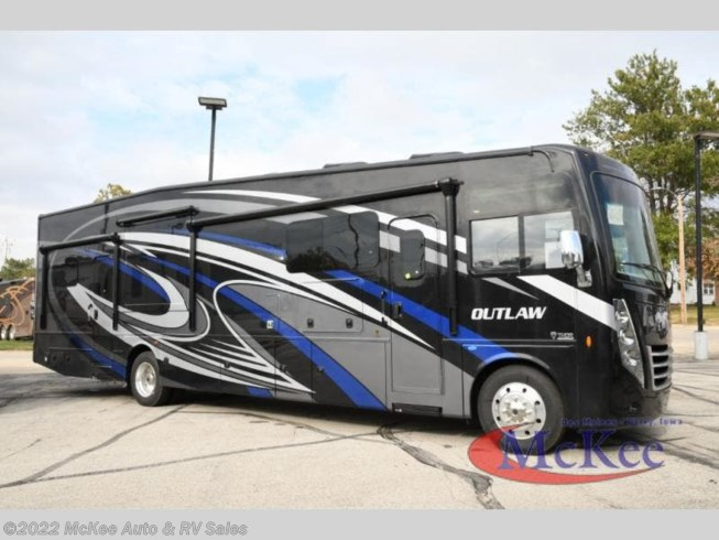 2021 Thor Motor Coach Outlaw 38MB - New Toy Hauler For Sale by McKee Auto & RV Sales in Perry, Iowa features Slideout