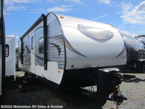 Used 2017 Forest River Salem T27DBUD For Sale by Mekkelsen RV Sales & Rentals available in East Montpelier, Vermont