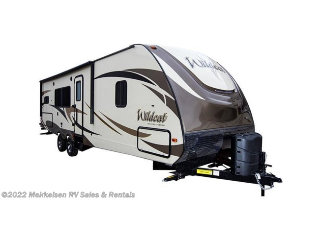 Stock Image for 2017 Forest River Wildcat 322TBI (options and colors may vary)