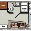 2018 Gulf Stream Vista Cruiser 17RWD floorplan image
