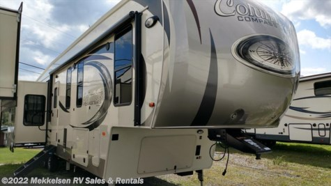 New 2018 Palomino Columbus Compass 377MBC For Sale by Mekkelsen RV Sales & Rentals available in East Montpelier, Vermont