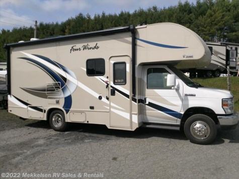 New 2018 Thor Motor Coach Four Winds 24F For Sale by Mekkelsen RV Sales & Rentals available in East Montpelier, Vermont