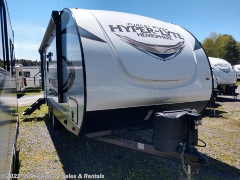 New 2018 Forest River Salem Hemisphere Hyper-Lyte 23RBHL For Sale by Mekkelsen RV Sales & Rentals available in East Montpelier, Vermont