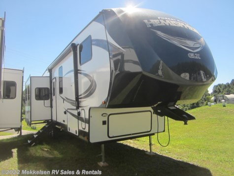 New 2019 Forest River Salem Hemisphere GLX 337BAR For Sale by Mekkelsen RV Sales & Rentals available in East Montpelier, Vermont