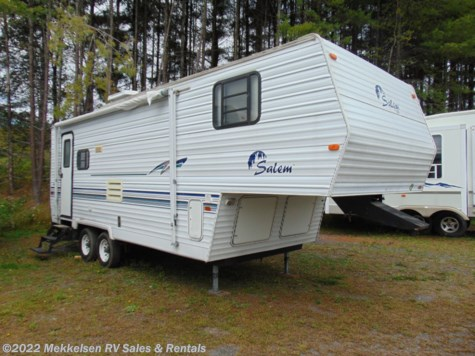 Used 2000 Forest River Salem 28bhxl For Sale by Mekkelsen RV Sales & Rentals available in East Montpelier, Vermont