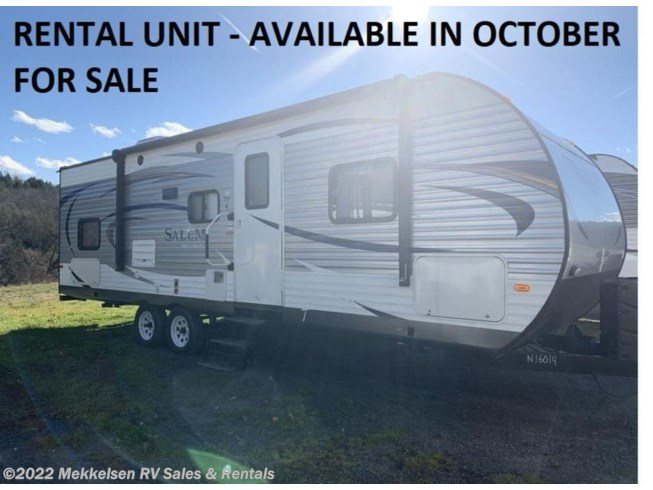 Used 2017 Forest River Salem 27DBUD available in East Montpelier, Vermont