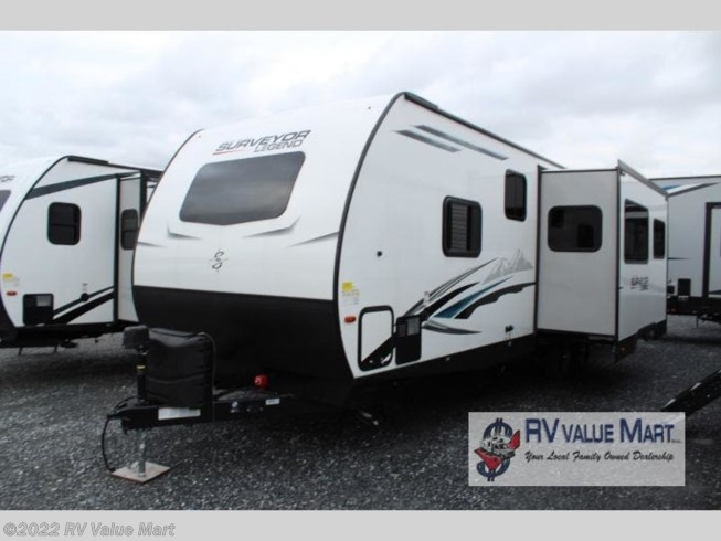2021 Forest River Surveyor Legend 296QBLE - New Travel Trailer For Sale by RV Value Mart in Willow Street, Pennsylvania features Slideout