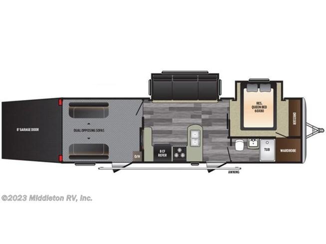 2017 Keystone Rv Impact Vapor Lite 29v For Sale In Festus