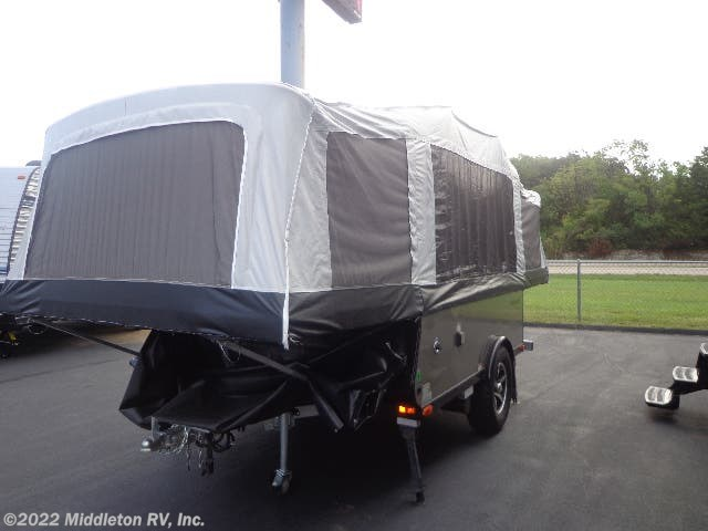 2017 Livin' Lite Quicksilver 8.0 - Used Popup For Sale by Middleton RV, Inc. in Festus, Missouri features Smoke Detector, Spare Tire Kit, Booth Dinette, Leveling Jacks, Auxiliary Battery