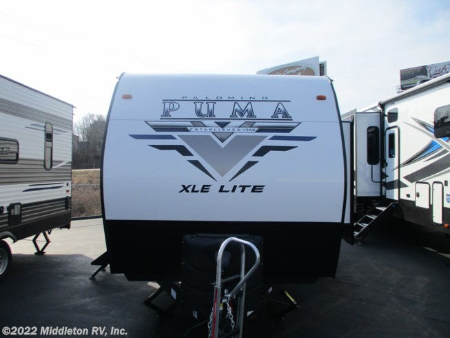 2021 Palomino Puma XLE Lite 29TSS - New Toy Hauler For Sale by Middleton RV, Inc. in Festus, Missouri features LP Detector, Shower, DVD Player, Spare Tire Kit, Medicine Cabinet