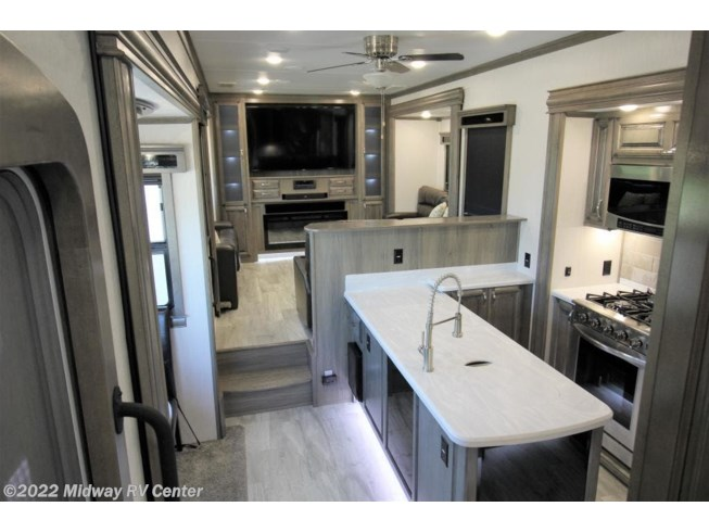 2020 Forest River Riverstone Legacy 37MRE - Used Fifth Wheel For Sale by Midway RV Center in Grand Rapids, Michigan