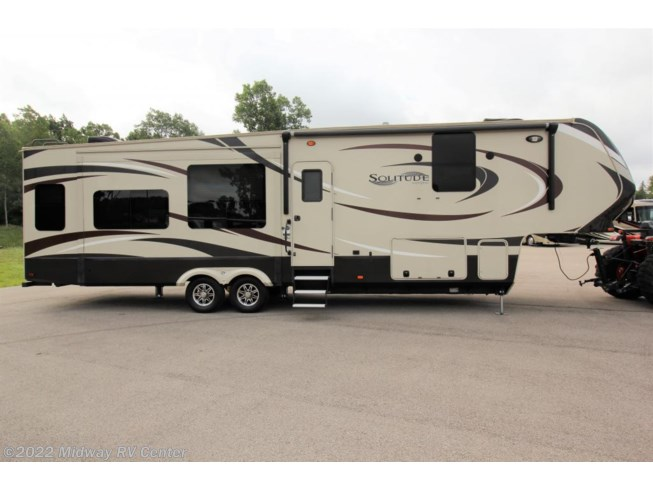 Used 2016 Grand Design Solitude 369RL available in Grand Rapids, Michigan