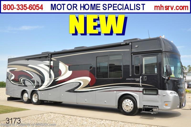 2010 gulf stream rv tour master constellation w media room for Motor home specialist inc alvarado texas