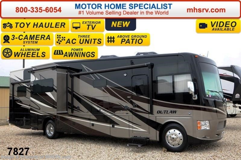 New 2015 Thor Motor Coach Outlaw