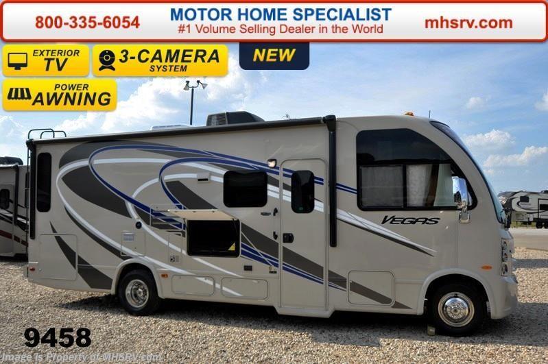 2015 thor motor coach rv vegas 25 1 w slide ifs 3 tvs for Motor home specialist inc alvarado texas