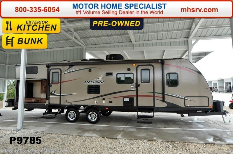 2014 mallard coach rv mallard m32 bunk house w 2 slides for Motor home specialist inc alvarado texas