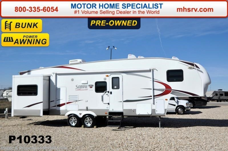Used 2011 Palomino Sabre Silhouette 320FQDS Bunk House W 2 Slides