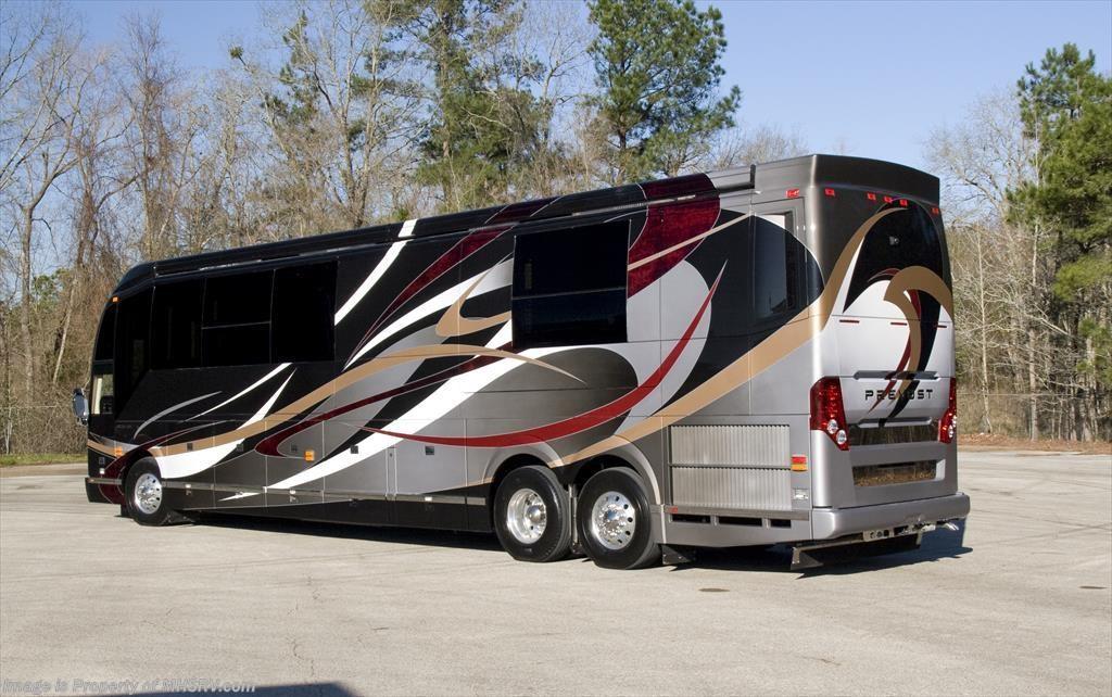 Prevost Motor Coach >> New 2016 Prevost H3 45 By Outlaw Coach The Residency Iii Bath 1