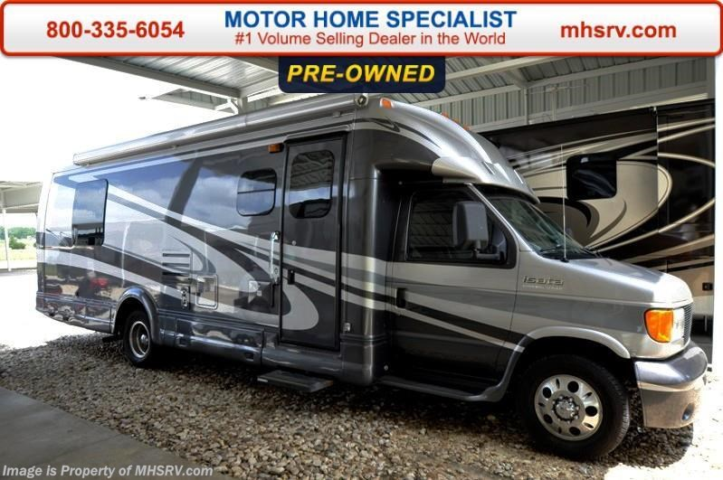 2006 dynamax corp rv isata e series 280sl with slide for for Motor home specialist inc alvarado texas