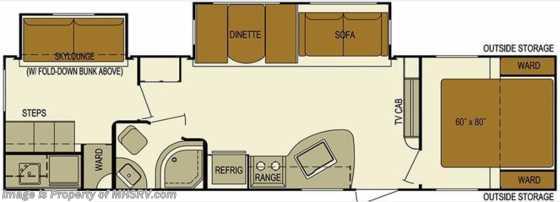 New 2016 Skyline Layton Javelin 305bh Bunk House Pwr
