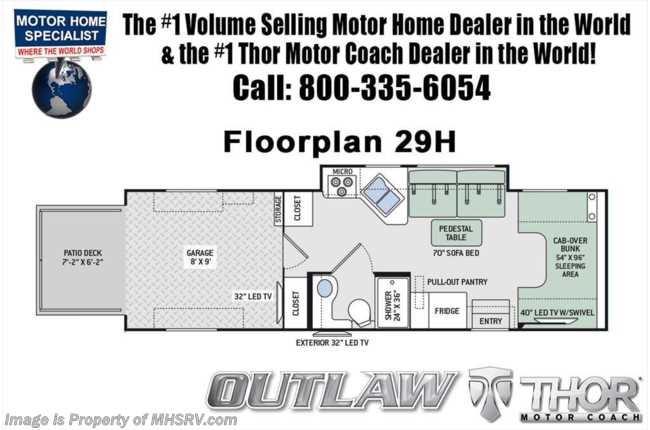New 2018 thor motor coach outlaw 29h toy hauler class c rv for sale new 2018 thor motor coach outlaw 29h toy hauler class c rv for sale at mhsrv cheapraybanclubmaster Images