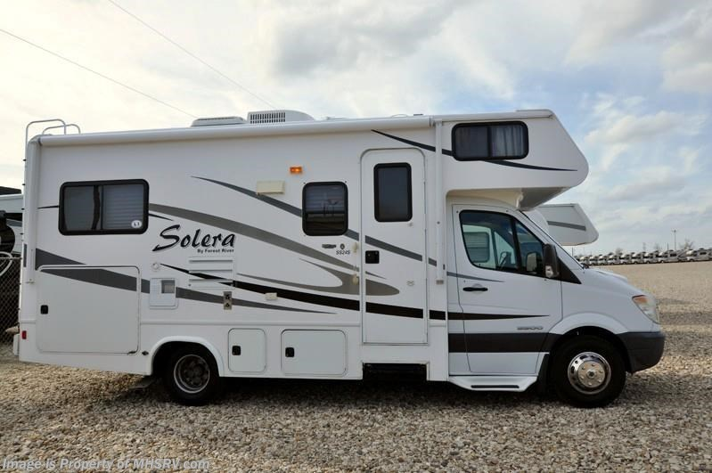2010 Forest River Rv Solera Ss24 Diesel With Slide For