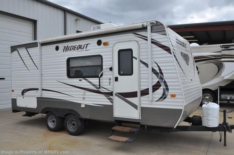 Used 2012 Keystone Hideout 19flb Bunk Beds