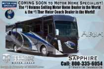 2019 Thor Motor Coach Aria 3401 Luxury RV for Sale W/360HP, King Bed, W/D