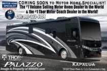 2019 Thor Motor Coach Palazzo 36.3 Bath & 1/2 Diesel Pusher Theater Seats & W/D