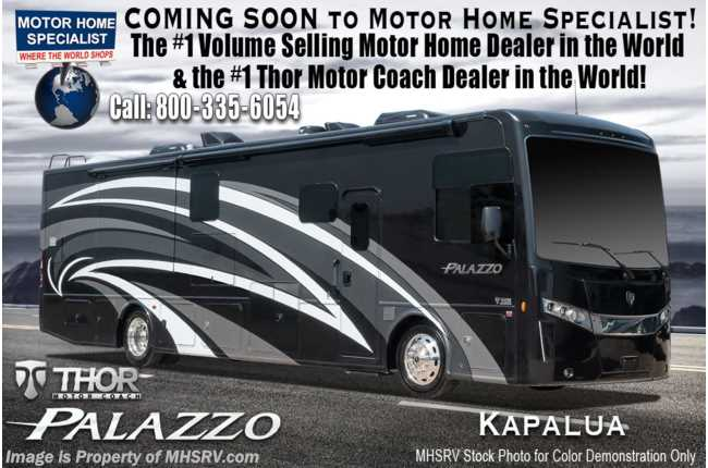 New 2019 Thor Motor Coach Palazzo