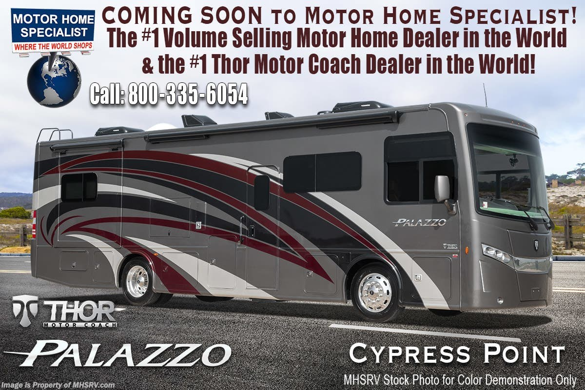 New 2019 Thor Motor Coach Palazzo 335 Bunk House Diesel For Sale Motorhome Wiring Diagram