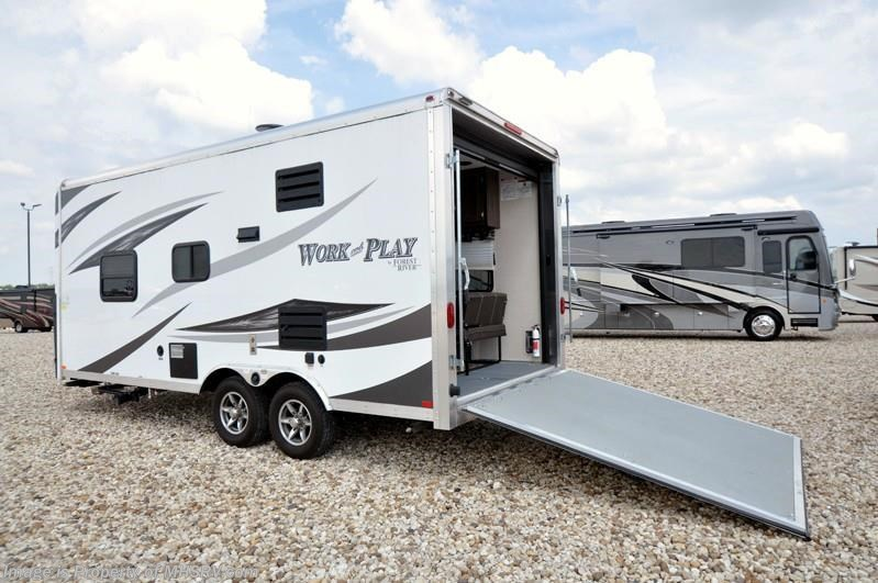 2016 Forest River Work and Play 18EC Toy Hauler for Sale W ...