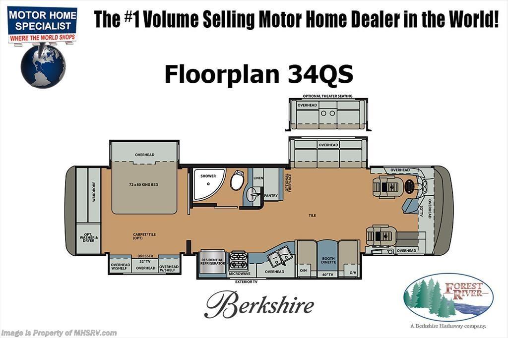 new 2018 forest river berkshire 34qs 360 rv for sale w sat king w d rh mhsrv com