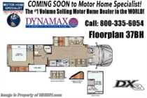 2019 Dynamax Corp DX3 37BH Super C, Bunk, Black Out Pkg, Theater Seats