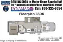 2019 Dynamax Corp Isata 5 Series 36DS Super C 4x4 RV W/ Theater Seats, 8KW Gen