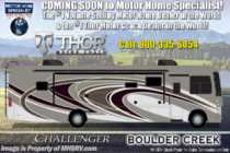 2019 Thor Motor Coach Challenger 37FH Bath & 1/2 RV W/Theater Seats, King