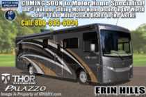 2019 Thor Motor Coach Palazzo 37.4 RV for Sale W/ Theater Seats & King Bed