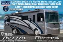 2019 Thor Motor Coach Palazzo 37.4 RV for Sale W/Theater Seats, King Bed, 340HP