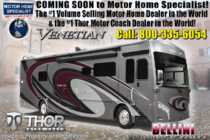 2019 Thor Motor Coach Venetian S40 Luxury RV for Sale W/Theater Seats & King Bed