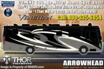 2020 Thor Motor Coach Venetian L40 Luxury RV for Sale W/Theater Seats & King Bed