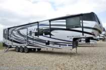 2018 Heartland RV Road Warrior RW427 W/Ext TV, Arctic, 3 A/Cs, Dual Pane